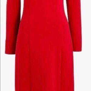 JCrew new red dress